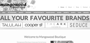 Web Design Warrnambool - Mangowood
